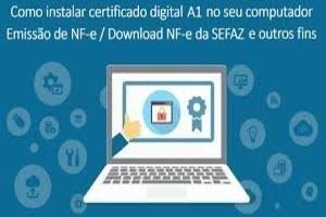 Certificado Digital Emissão Imediata Instalado e Configurado