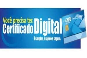 Certificado Digital Atendimento em Domicílio