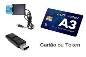 Venda de Leitora de Cartão Certificado Digital A3 Recife